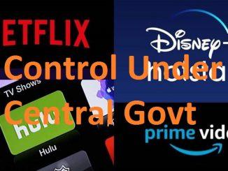 OTT Platforms, News portal, Content Control Under Govt